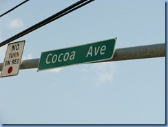1970 Pennsylvania - Hershey, PA - Cocoa Ave sign