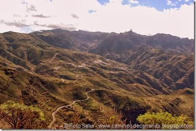 7026 Cruz Tejeda-Artenara-Guardaya(Caldera de Tejeda)