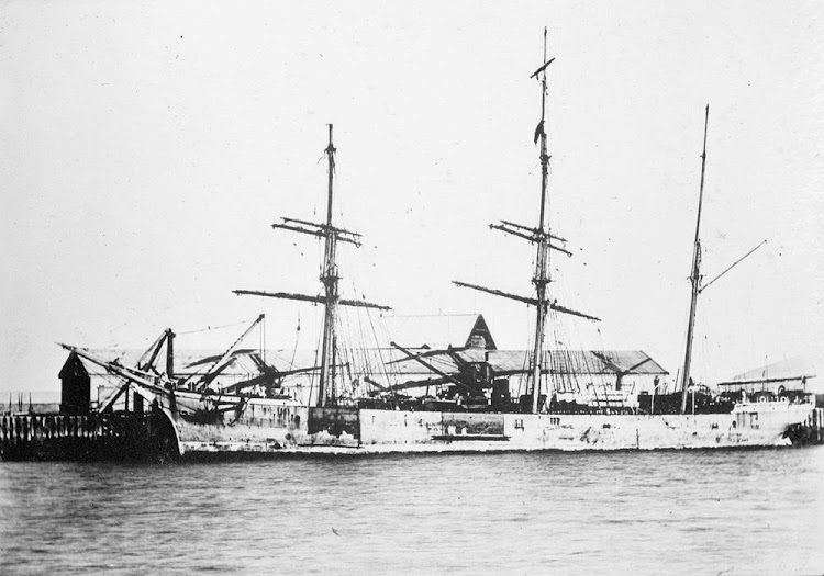 PORT SONACHAN. Foto de State Library of Victoria. Web Trove.jpg