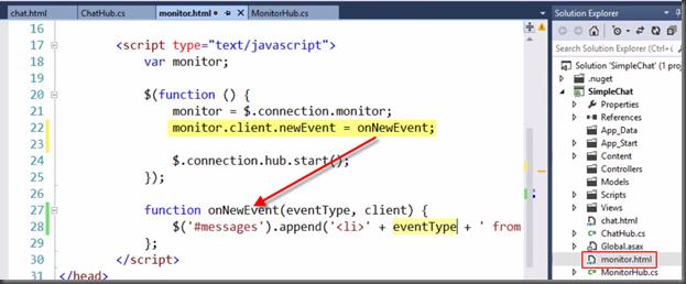 Mr Ba Code: ASP NET SignalR – Clients