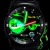 Watch Face - Green Laserslime