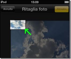 Griglia di ritaglio foto iPhone, iPad e iPod touch