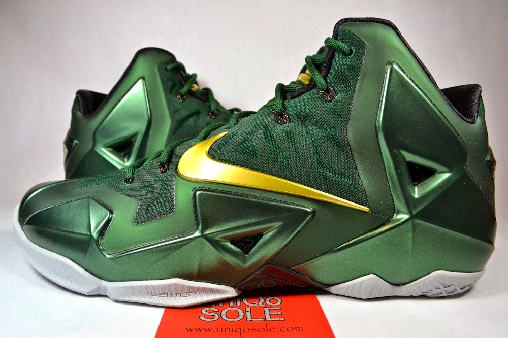 806e2e9c5b6ff ... Nike LeBron 11 8211 SVSM Away 8211 Detailed Look ...