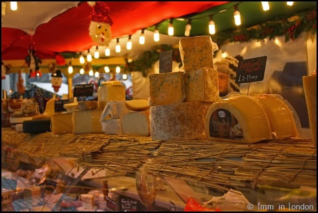 Cheese at Belfast Christmas Market