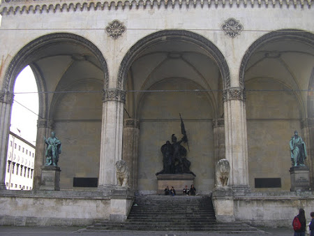 Obiective turistice Bavaria: Feldherrnhalle