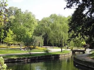 Jardin de l'Arquebuse à Dijon