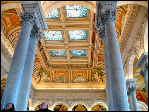 Library of Congress, Washington, DC, Etats-Unis -4