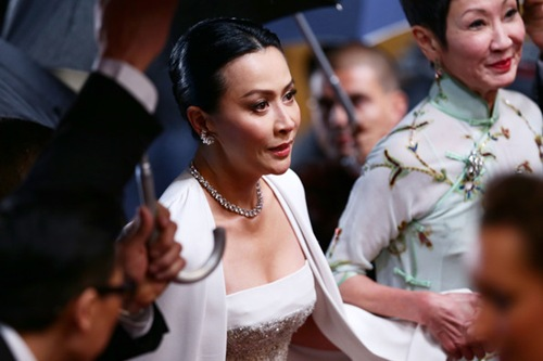 Carina-Lau Bends Premiere 66th Annual Cannes Film Festival