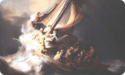 Rembrandt's Storm on the-Sea of Galilee