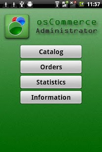 osCommerce Administrator - screenshot thumbnail