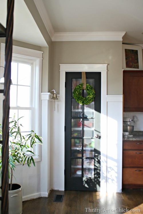 replacing pantry door