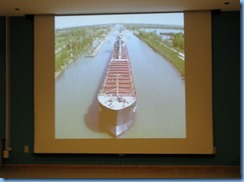 7908 St. Catharines - Welland Canals Centre at Lock 3 - inside Museum - Burgoyne Room Welland Canal video