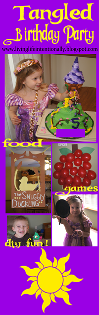 Tangled Birthday Party Ideas #birthday