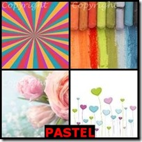 PASTEL- 4 Pics 1 Word Answers 3 Letters