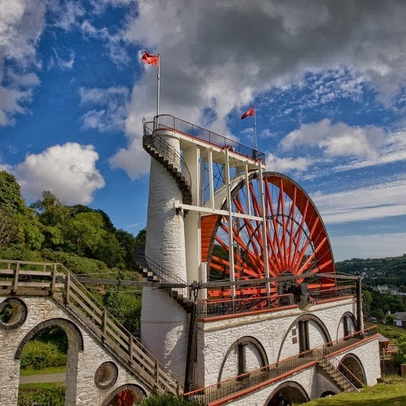 The Laxey Wheel: World's Largest Working Waterwheel