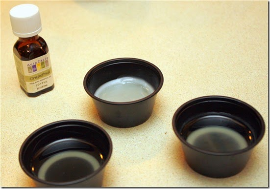 how to make scented wax warmer tarts