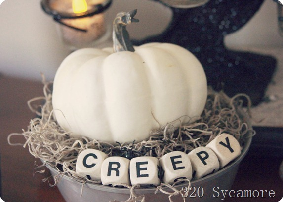 halloween piano top boggle letters