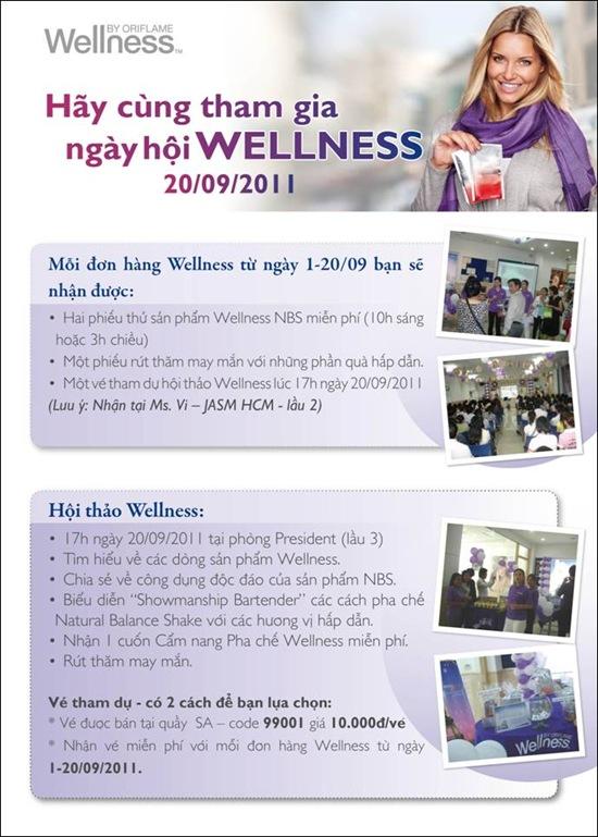 Oriflame 9-2011: Hội thảo Wellness
