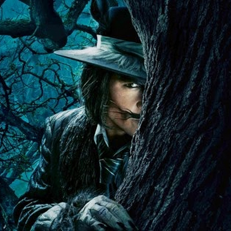 "Johnny Depp Transforms as the Wolf ""Into the Woods"""
