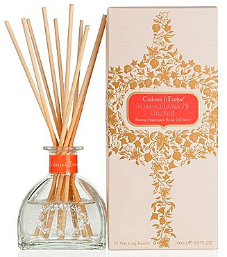 CRABTREE & EVELYN POMEGRANATE GROVE Reed Diffuser  (200ml, $88)
