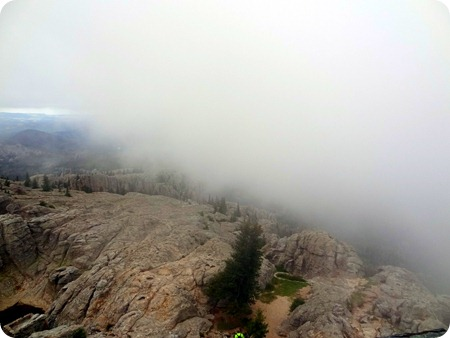 fog on peak