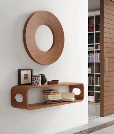 Decorar pasillos con mucho estilo - Muebles de pasillo ...