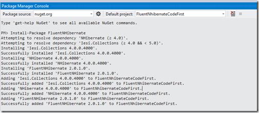 adding-package-fluent-nhibernate