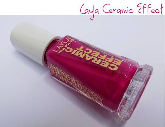 Layla Nail Polish Ceramic Effect