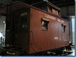 1898 Pennsylvania - Strasburg, PA - Railroad Museum of Pennsylvania - circa 1900 Lehigh Valley No. 2606 caboose