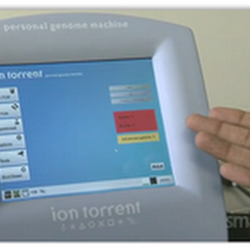 Ion Torrent's DNA Desktop Machine Walk Through- How Semi Conductor Sequencing Works (Video)