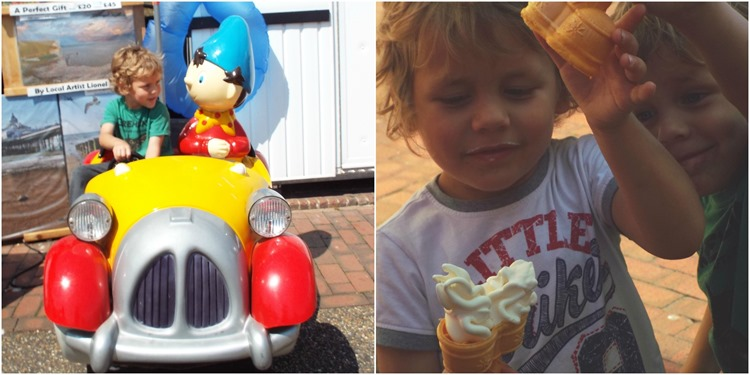 noddy and ice creams