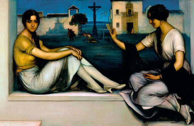 Museo Carmen Thyssen Málaga - Julio Romero de Torres - La buenaventura.jpg