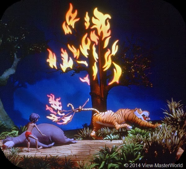 View-Master Jungle Book (B363): Scene 18