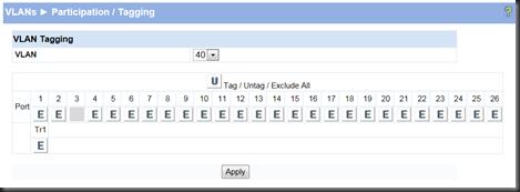 VMWare: Creating VLAN on HP ProCurve 1810G-24 v2 for vSphere 5 0