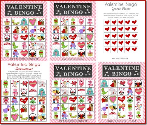 Valentine-Bingo-Game - Project Inspire