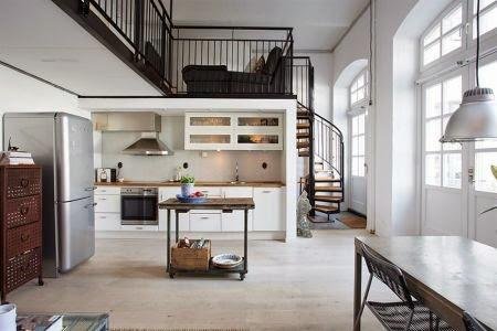 Ideas para aprovechar el hueco de la escalera for Ideas aprovechar espacio cocina