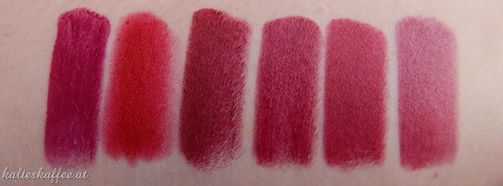 YSL Forbidden Burgundy Swatch