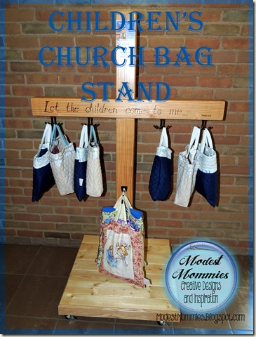 Church Bags and Stand