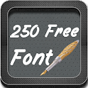 250 Fonts Free for Galaxy icon