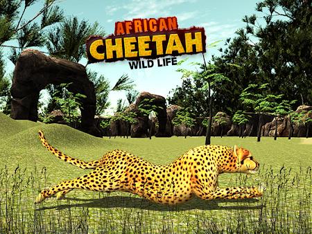 African Cheetah Survival Sim 1.1 screenshot 69715