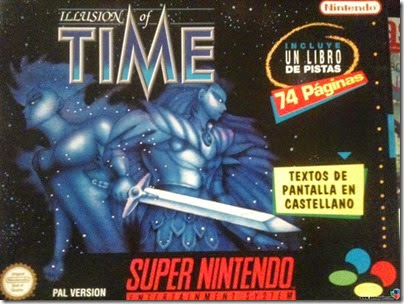 illusion of time snes cover