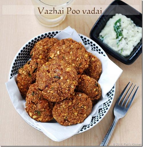 Vazhaipoo-vadai-recipe