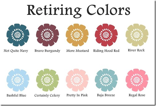 retiring colors flowers