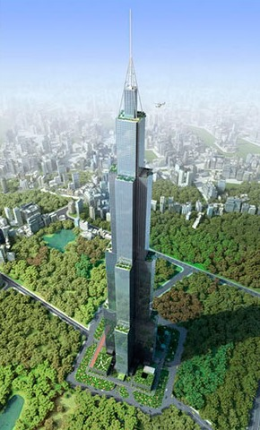 Sky City, según un diseño de Broad Sustainable Buildings