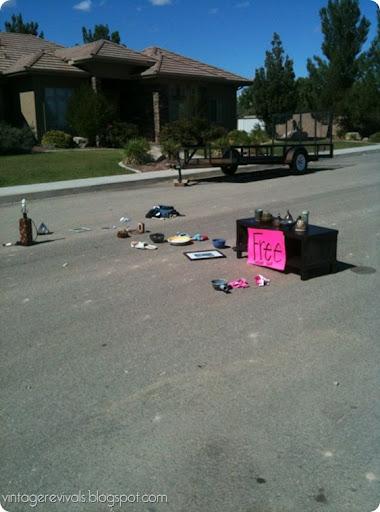 yard sale sign ideas