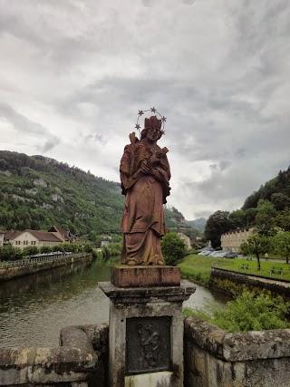 Statue Saint-Jean Népomucène à St-Ursanne