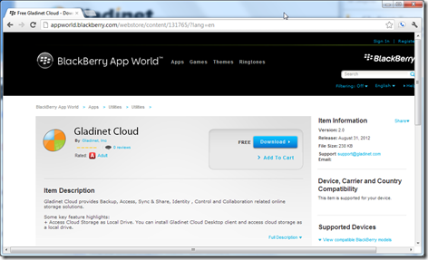 Free Gladinet Cloud - Download Gladinet Cloud - Free Apps from BlackBerry App Wo_2012-09-06_11-24-26