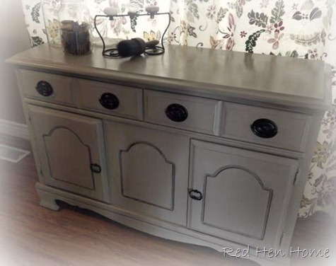 country gray buffet