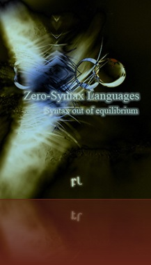 Zero Syntax Languages Cover