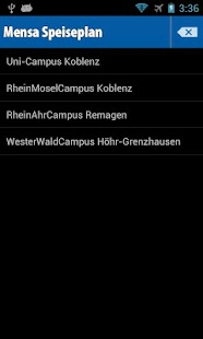 Mensa Koblenz - screenshot thumbnail